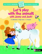 Let's play with the animals with Jenny & Jack